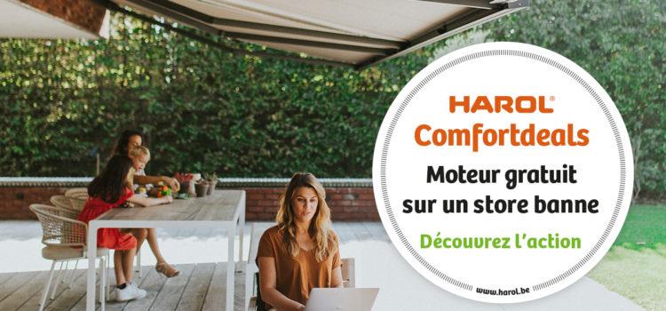 Promotions Harol sur les protections solaires