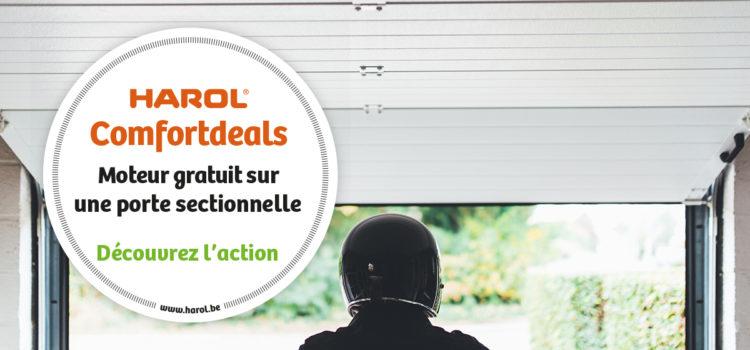 Promotions Harol sur les portes sectionnelles